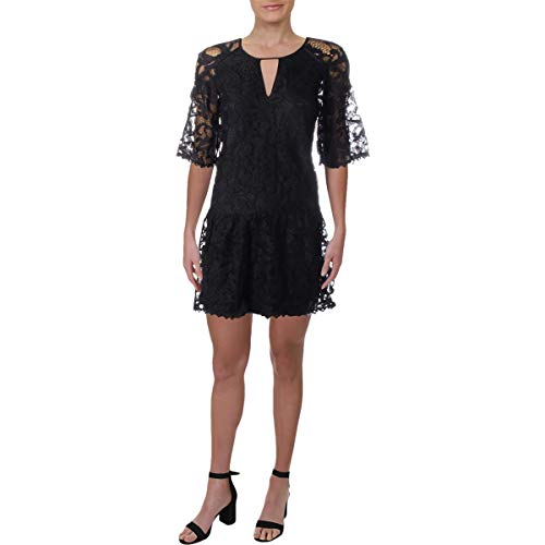 Juicy Couture Women#039s Hibiscus Lace Dress