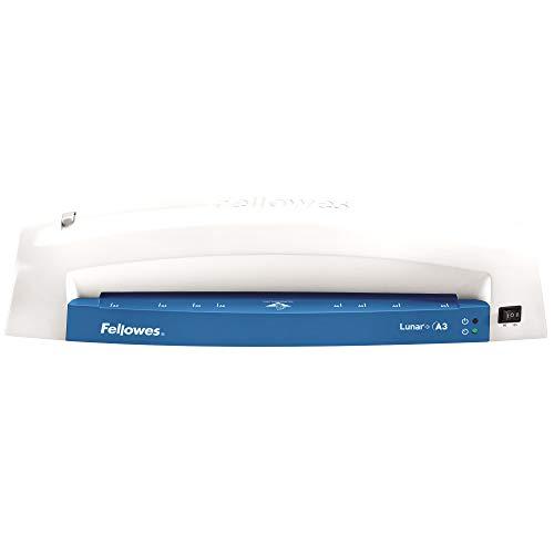 Fellowes 5742701 Laminiergerät für die gelegentliche Nutzung Zuhause oder im Office geeignet für 80 und 125 Mikron Laminierfolien bis A3 Format, blau