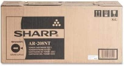 Sharp Genuine Brand Name, OEM AR208NT (AR-208NT) Black Toner Cartridge (8K YLD)