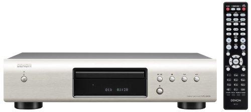 Denon DCD 520 AE CD-Player (Aluminium Frontblende, ECO-Standby, Burr Brown Wandler) silber