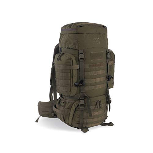 Tasmanian Tiger Raid Pack Mk III, 52L MOLLE Military Backpack with Adjustable Back Length, Hydration Compatible, Olive