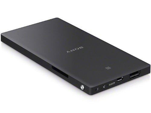 ソニー Wi-Fi SD&USB対応 (スマホ充電付) ポータブルワイヤレスサーバー ブラック WG-C20 B