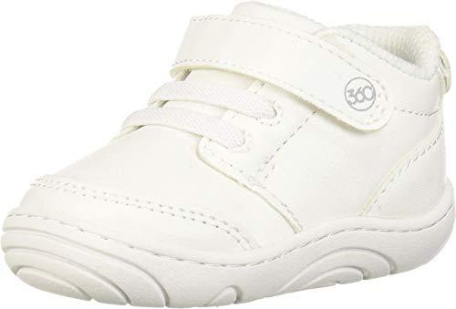 Stride Rite 360 baby boys Sr Taye 2.0 Sneaker, White, 3 Infant US