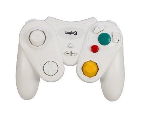 Logic3 GameCube White Game Pad (Wii) [Importación inglesa]