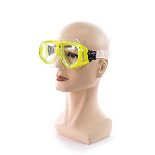 Zwemmen Duikbril, explosieveilige lenzen Snorkelbril, snorkelmaskers,siliconenpakkingen zijn geschikt voor het gezicht,beschermen de neus, voorkomen verstikking van water, anticondens spiegels, buiten