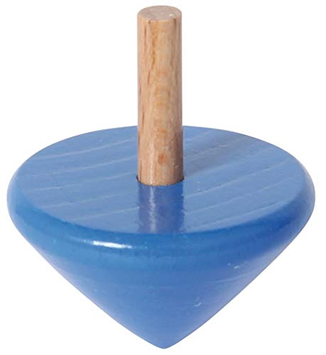 Toupie bleu