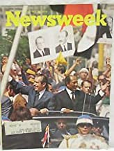 Newsweek Magazine June 24 1974 - Richard Nixon on Tour - Fetal Research - The Lives of a Cell - Bob Guccione of Penthouse Interview - Steven Spielberg's Jaws - Marlboro Cigarettes Back Page Ad