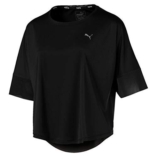 Puma Explosive Tee T-Shirt, Donna, Puma Black, M
