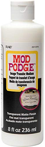 Mod Podge CS11216 Image Transfer medium 236ml, Farblos, 8 oz