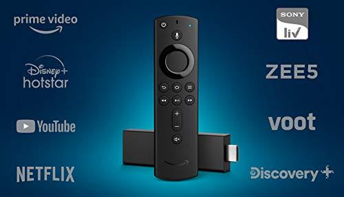 Fire TV Stick 4K with Alexa Voice Remote | Stream in 4K...
