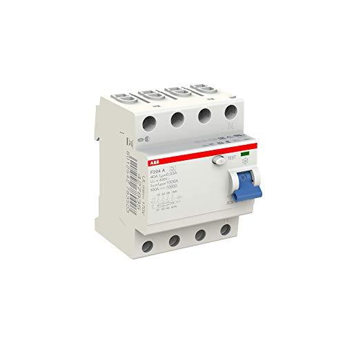 ABB Fi-Schutzschalter 2CSF204101R1400, 4-polig, F204A-40/0,03 - 3