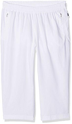 Trigema Trigema Herren 3/4 Freizeithose Baumwolle 615292, Pantalon de sport Homme, Blanc (001), XXXL (Taille fabricant: XXXL)