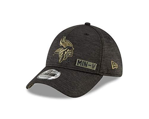 New Era Minnesota Vikings - 39thirty Cap - Salute to Service 2020 - Black - S-M (6 3/8-7 1/4)
