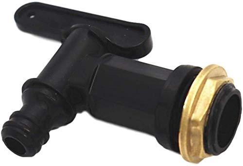 XIAOLTSHANGDIAN Adaptador 3/4 válvula de Bola 3/4 Rosca de conexión de Manguera para Conector de Grifo de Tanque de Agua para Tanque de Agua de Lluvia