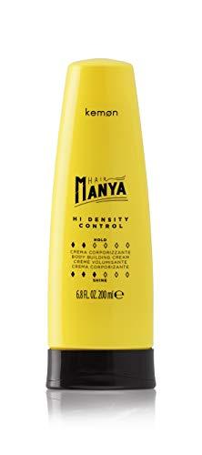 Kemon - Hair Manya Hi Density Control, Crema per Capelli Ricci Corporizzante, Effetto Termoprotettivo e Idratante - 200 ml