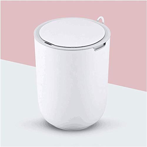 XZJJZ Basura inteligente impermeable para el hogar, para sala de estar, cocina, baño, 8 l, lindo dormitorio automático (color: B)