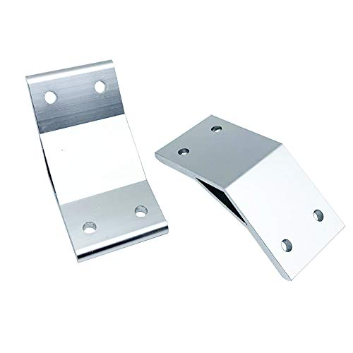 2pcs 135 Degree 8080 80x80 Corner Angle Bracket Connection Joint for 8080 Series Aluminum Profile