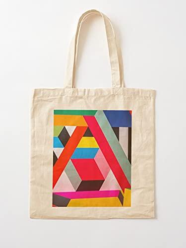 Générique Good Abstract Great Shop Digital Landscapes Arts Top | Sacs d'épicerie de Toile Sacs fourre-Tout avec poignées Sacs à provisions en Coton Durable