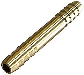 TOYOKING ハイテク 真鍮 ホースジョイント ストレート 同径 Φ7mm 汎用品 接続継手 インタークーラー ターボ インテーク オイルライン ラジェーターライン パイピングホース