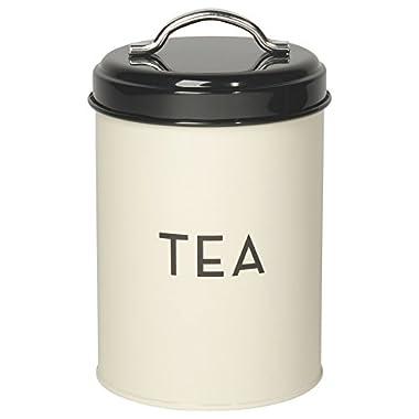 Now Designs Tea Tin, Ivory