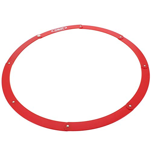 Cercle de pétanque pliant Obut - rouge