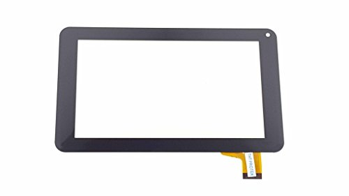 Schwarz Touchscreen Digitizer Glas komp. Mit Prestigio PER5574 Ebook Reader