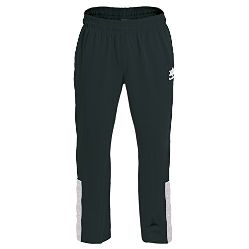 Luanvi Quebec Pantalones de Baloncesto, Hombre, Negro, XXXXL