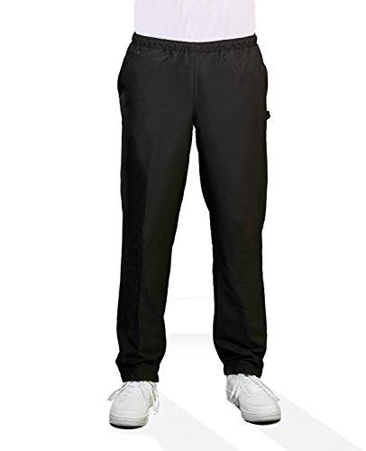Michaelax-Fashion-Trade Authentic klein - Herren Sport und Freizeit Hose in Blau oder Schwarz (51000), Farbe:Schwarz (090), Größe:114
