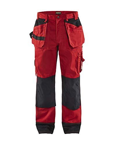blaklader–Pantaloni di travail-coloris Grigio e nero rosso 52