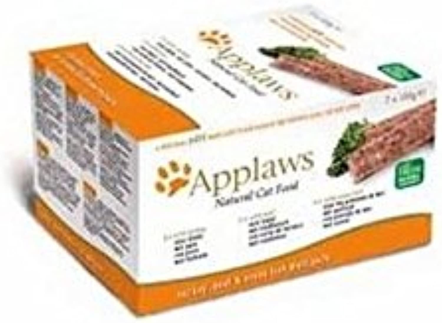 Applaws Multipack Pate 2 7 Pack (852g) (Pack of 4)