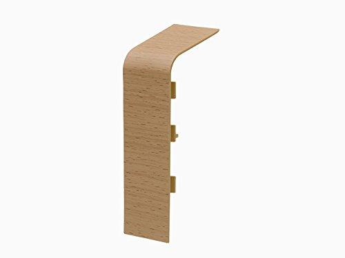 Primo Verbinder für Rohrverkleidungsleiste | 45x110mm | Holz Dekor Buche hell