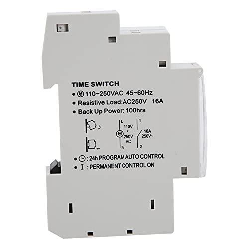 Interruptor temporizador automático, interruptor de control de tiempo SUL180 Interruptor temporizador de 24 horas Duradero Ligero Seguro Resistente al desgaste para controlar cualquier