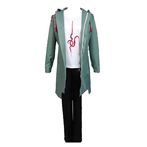 Neuheit Cosplay für Partykostüme Super Danganronpa 2 Komaeda Nagito Täglich Casual Zipper Sweatshirt Pullover Anzüge für Frauen Männer komplettes Set