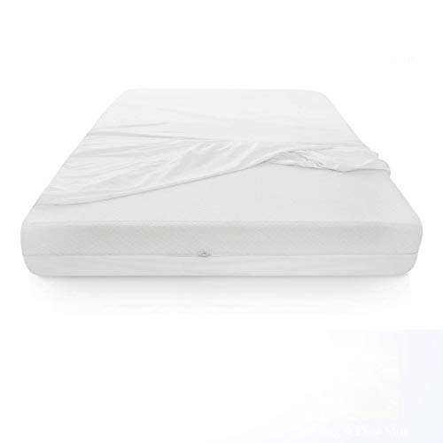 Greaton Box Spring Protector Cover, Water Proof,Fits Mattress Size 6-9, Twin, White