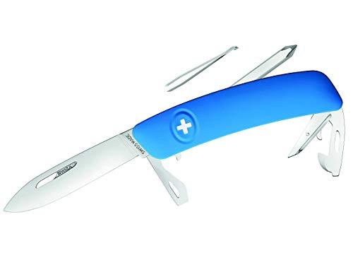 SWIZA Schweizer Messer D04 blau Gesamtlänge: 16.7cm, 75 mm