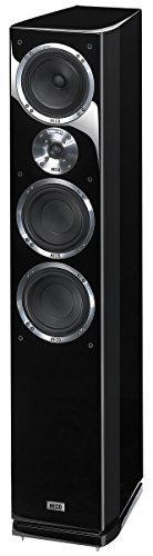 Heco Celan GT 702 220 W Lautsprecher (3-Wege, 1.0 Kanäle, kabelgebunden, 220 W, 22 – 50.000 Hz, schwarz)