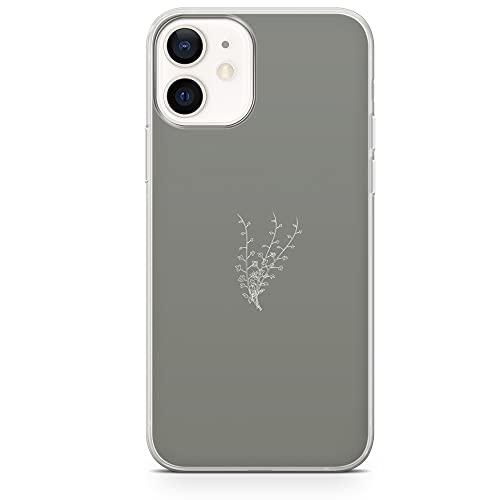 Custodia per telefono minimalista fiore pressato cover per iPhone 6/6s - Design 5