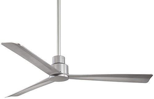 Minka-aire F787-WH Ventilatore da Soffitto per Esterno 132 cm Liscio Semplice Bianco