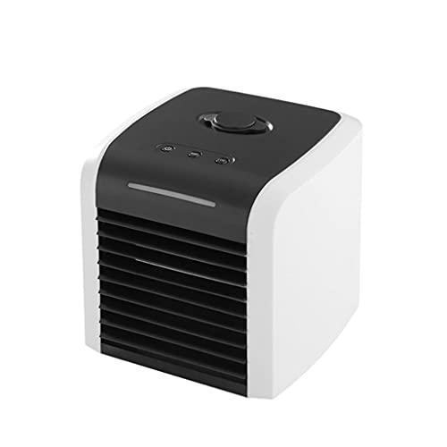non_brand Enfriador de Aire Personal Ventilador USB de Enfriamiento Portátil Y Luz LED de 7 Colores para Habitación