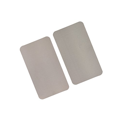 RFID/NFC Abschirmeinlage für Geldbörsen und Brieftaschen. Inhalt: 2 Stücke mit je 14,5 cm x 8,3 cm in der Größe eines 200 Euro Scheines. Die Einlage ist extrem dünn.