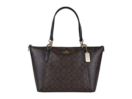 COACH Signature Messico Ava Tote Brown/Black One Size