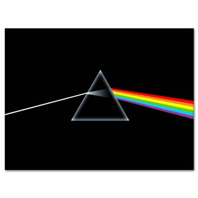 Pink Floyd Dark Side of The Moon Vynil Car Sticker Decal - Select Size