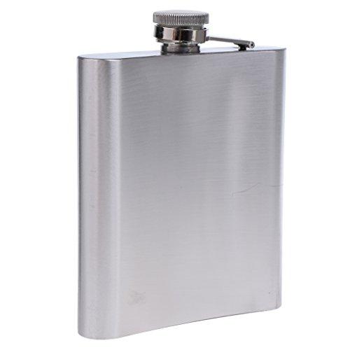 MagiDeal 1 St. RVS Heupfles Zakfles Met Schroefdop – Zilver – 500 ml