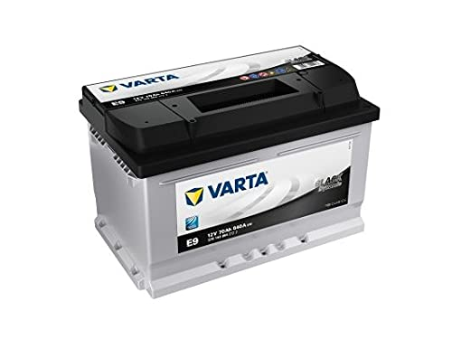 Varta BLACK Dynamic E9 Batería de arranque 570 144 064 3122, 12V, 70Ah 640A/EN