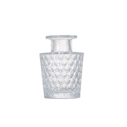 1 x flacon diffuseur en verre transparent de 100 ml - Pour aromathérapie, aromathérapie - Accessoire de rechange pour bricolage - Bâtons de diffuseur d'huiles essentielles - Pour décoration artisanale
