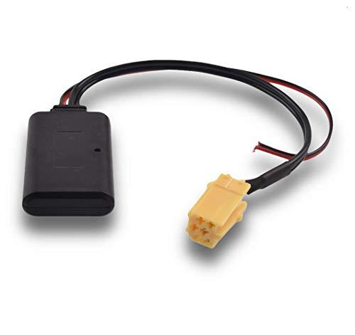 Shoppy Lab Compatibile Con Ricevitore Senza Fili Modulo Bluetooth Ingresso Aux Iso Autoradio Blaupunkt Vivavoce MP3 Dispositivo Per Ascoltare Musica Da Smartphone