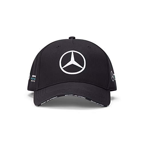 Mercedes-AMG Petronas Team BB cap Cappellino da Baseball, Nero, Taglia Unica Unisex-Adulto