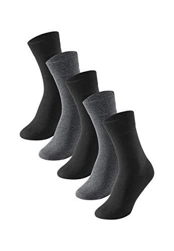 Schiesser Herren Multipack 5 Pack Herrensocken Strümpfe Socken, Sortiert 5, 43-46 EU