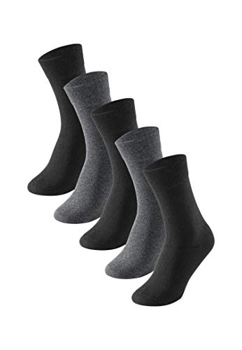 Schiesser Herren Multipack 5 Pack Herrensocken Strümpfe Socken, Sortiert 5, 43/46 (5er Pack)