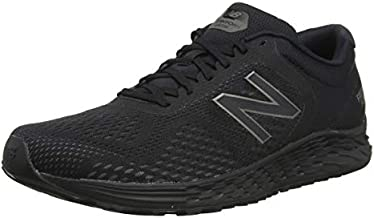 New Balance Men's Arishi V2 Fresh Foam Running Shoe, Black/Black, 11.5 4E US